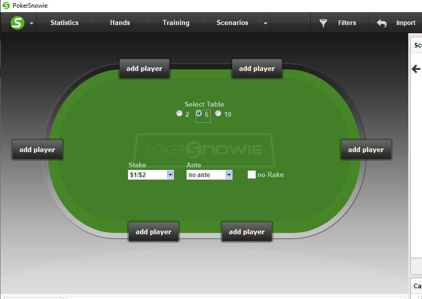 Overview of Pokersnowie