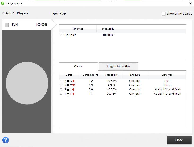 Pokersnowie window
